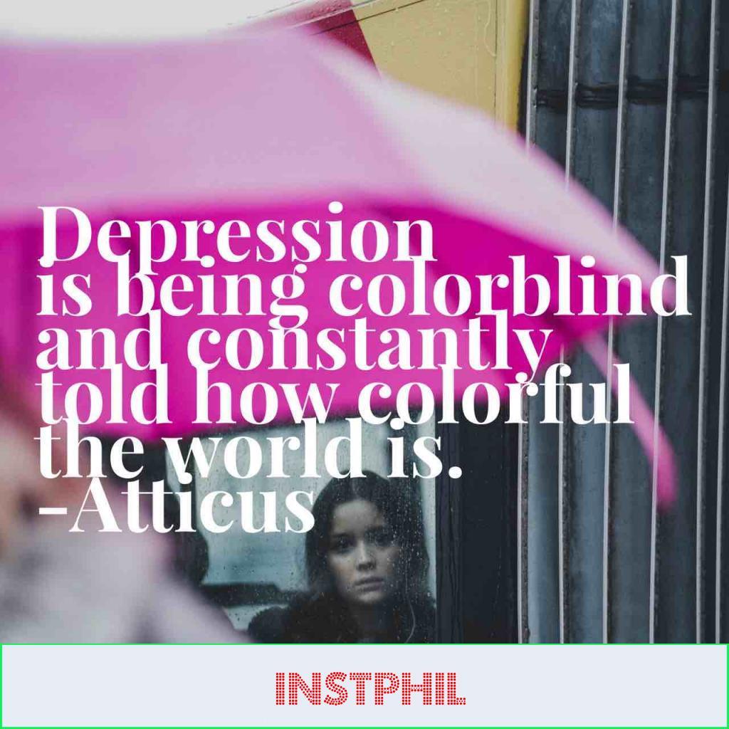 Atticus depression quote