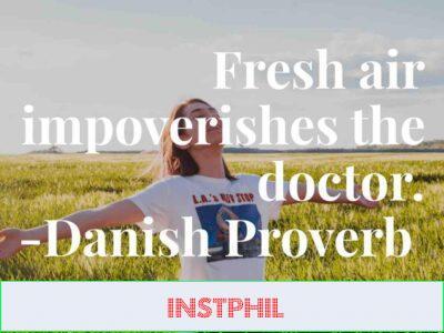 Danish health proverb