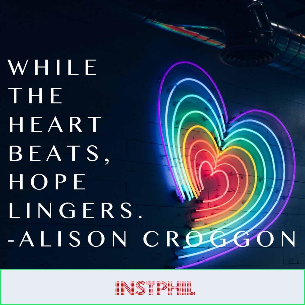 Allison Croggon hopeful quote
