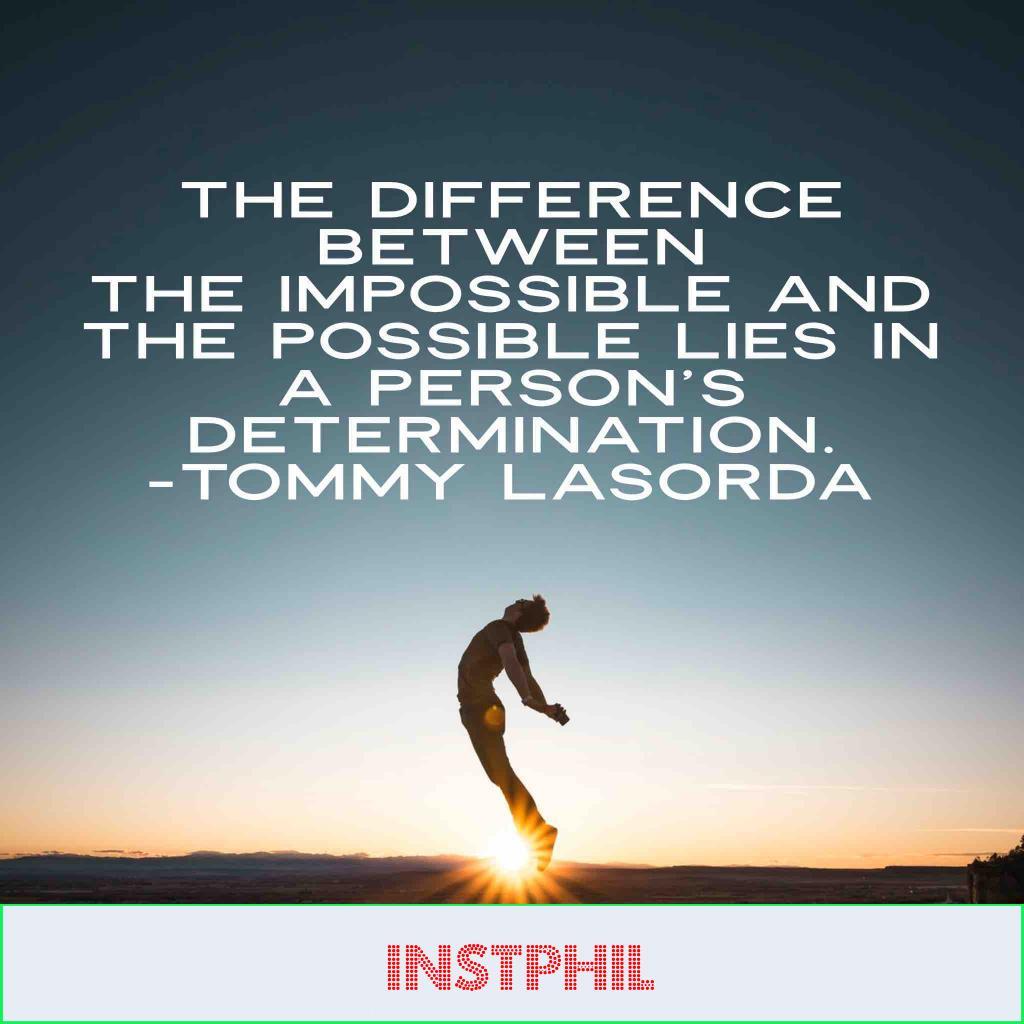 Tommyt Lasorda quote