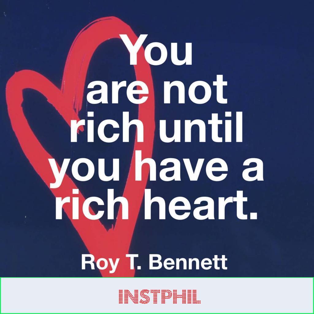 Roy T Bennett quote